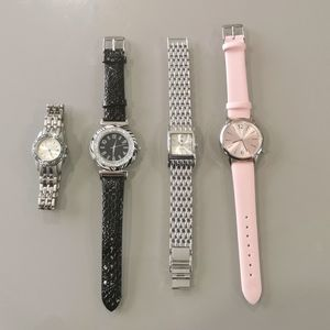 Lot of four (4) watches for women